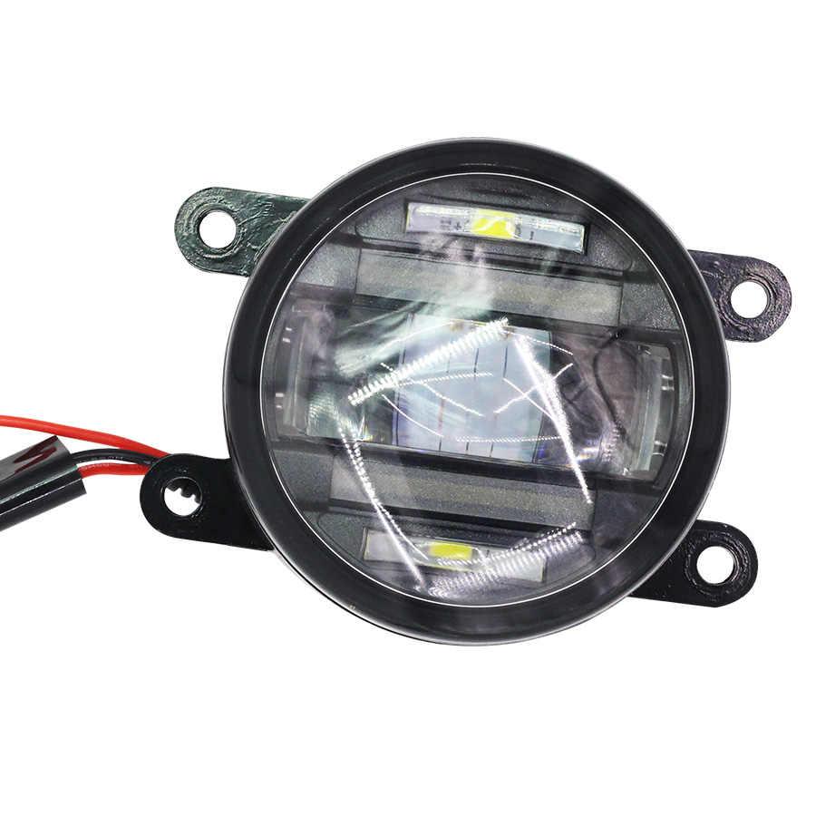 Cawanerl 2 X Автомобильный источник света туман света led drl дневные Бег лампа для nissan interstra Pathfinder FRONTIER NAVARA ПРИМЕЧАНИЕ sentra