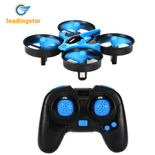 LeadingStar Original ELF VS H36 Mini Drone 6 Axis RC Micro Quadcopters With Headless Mode One Key Return Helicopter ZK25(China)