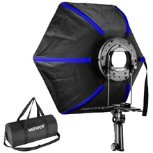 Neewer Hexagonale Softbox Pliable Diffuseur 20 pouces/50 centimètres avec Poignée Grip pour Speedlight Flash pour Studio Portrait