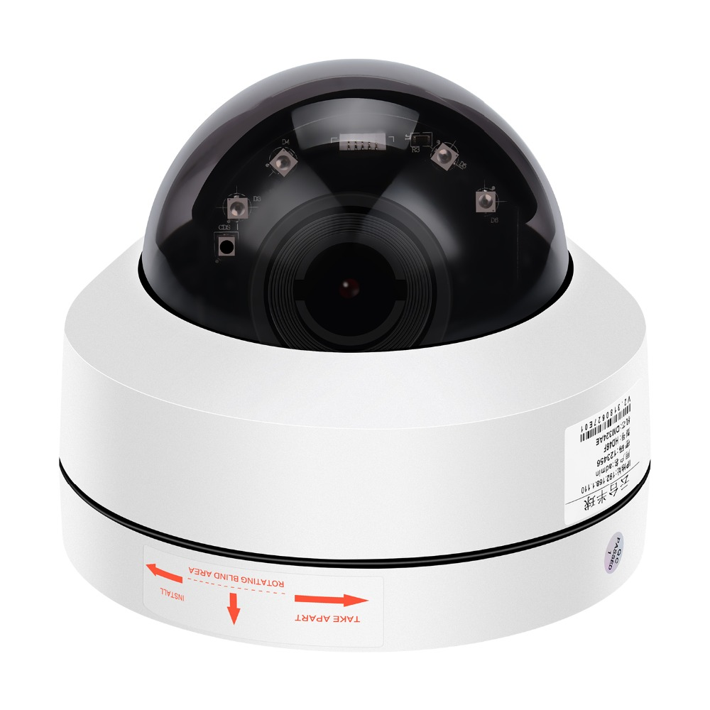 BESDER 5MP PTZ 4X Optical Zoom Speed Dome IP Camera 3MP 1080P Full HD ONVIF P2P