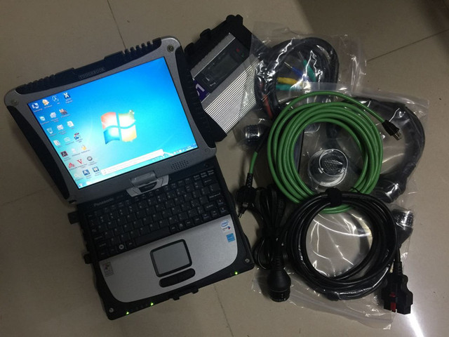 Special Price c4 diagnostic scanner mb star c4 with hdd 320gb software 2018.12 latest computer cf19 touch screen laptop ready to use