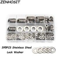 ZENHOSIT M4 M5 M6 M8 M10 M12 304 Stainless Steel Plain Washer Metric Insulated Metal Screw