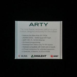 Image 2 - 410 319 Programmable logique IC outils de développement Arty Artix 7 FPGA avec Xilinx Artix 35T FPGA Artix 35T