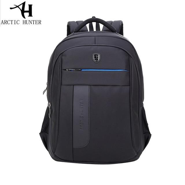8bdcb127c69 Arctic Hunter negro ordenador portátil mochila impermeable hombre diario  mochila bolsa de viaje Mochilas y bolsas. Sitúa el cursor encima para ...