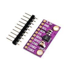 10 шт. заменить MPU9250 межсоединений интегральных схем/I2C 9DOF BMX055 IMU точный держатель для сверла 9-позиция оси Сенсор плата Модуль гибкий кабель