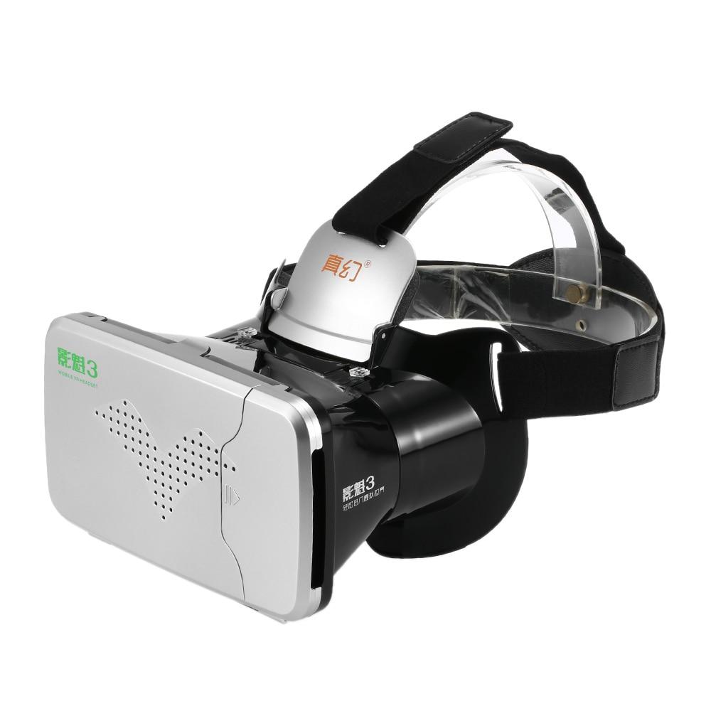 2b9195250924 RIEM III RIEM3 VR Virtual Reality 3D Glasses Headset Head Mount Cardboard  Mobile VR 3D Movie