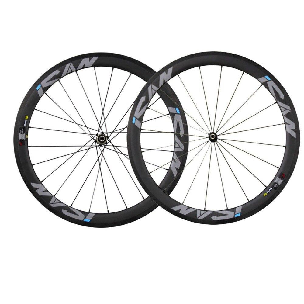 China carbon wheels road bike wheelset 50mm clincher 23mm width basalt surface racing bicycle wheel novatec hubs sapim CX Ray