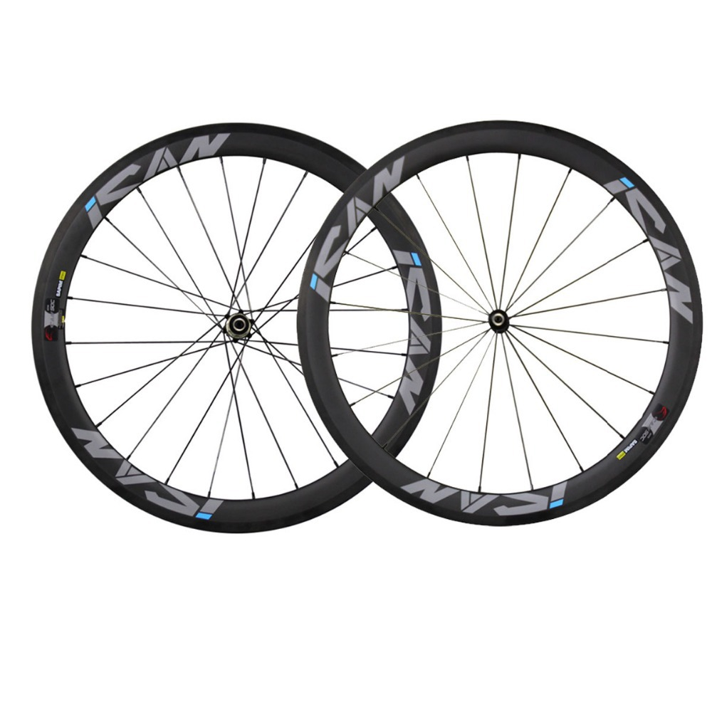 China carbon wheels road bike wheelset 50mm clincher 23mm width basalt surface racing bicycle wheel novatec hubs sapim CX-Ray far sports carbon wheels 50mm clincher 23mm wide with novatec hub and sapim spokes novatec carbon wheels fsc50cm 23 700c