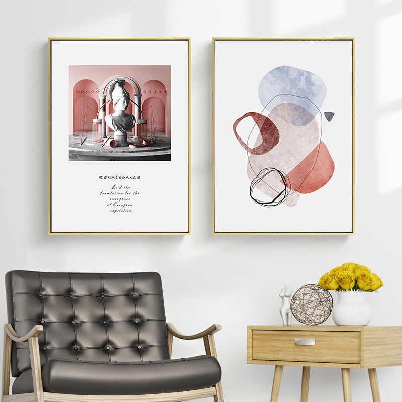 Abstract Vintage Europe Venus Prints Art Wall Canvas Paintings Posters Wall Art Pictures for Living Room Home Decoration