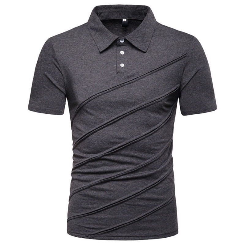 New Brand Clothing Men Polo Shirt Men Quality Cotton Mens Polo Shirt Business Casual Solid Male Polo Shirt
