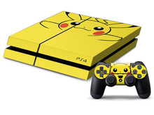 2016 Cool ps four Pores and skin Sticker For Sony Ps four ps4 recreation controller + 2Pcs Free PS4 Console Decals with retail packing