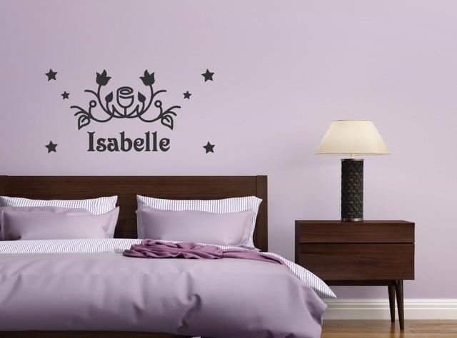 Decoratie Stickers Slaapkamer : Muursticker slaapkamer franse lelie decoratie print sign webshops
