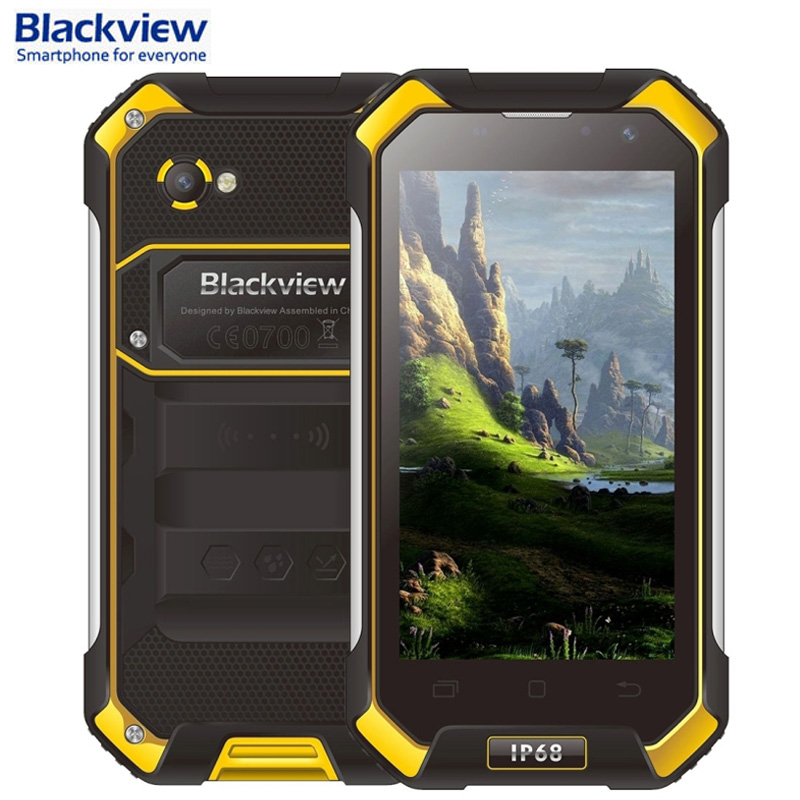 Blackview BV6000 Android 6.0 32GB/3GB IP68 Waterproof 4.7'' MT6755 Octa-core 2.0GHz Rugged Smartphone