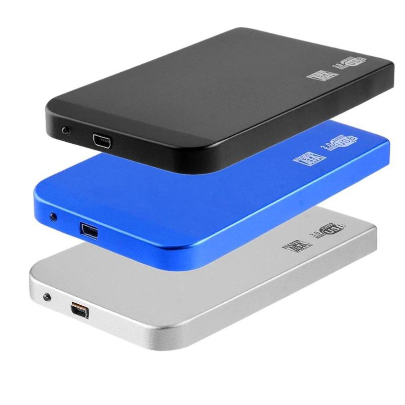 HDD Enclosure Hdd-Case-Adapter Hard-Disk SATA External SSD Usb-3.0 To for Ultra-Thin