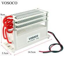 18 g/h מחולל אוזון נייד 110V 220V Ozonizer אוויר מים מטהר מעקר טיפול אוזון כדי פורמלדהיד הדחה