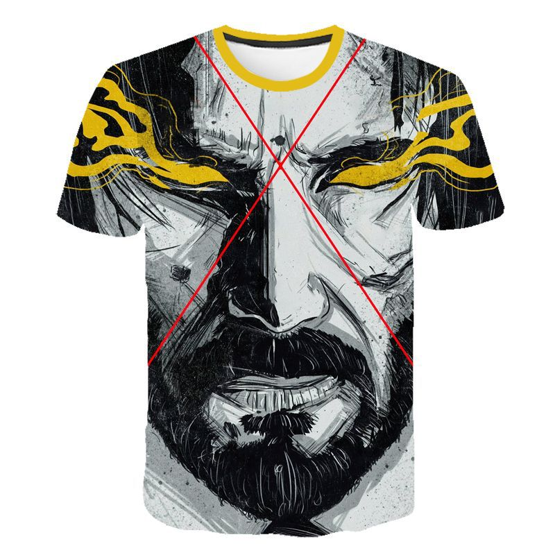 John Wick Chapter 3 Keanu Reeves Tshirt Short Sleeves Size S-4XL
