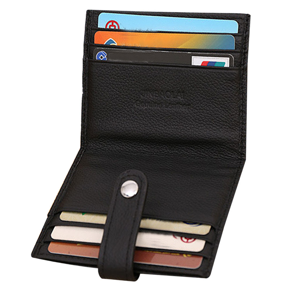 2015 New Fashion Luxury Gold Brand Retro Mens PU Leather Bifold Wallet Credit ID Card Slim Purse new fashion luxury mini neutral magic bifold pu leather wallet card holder wallet purse dec22