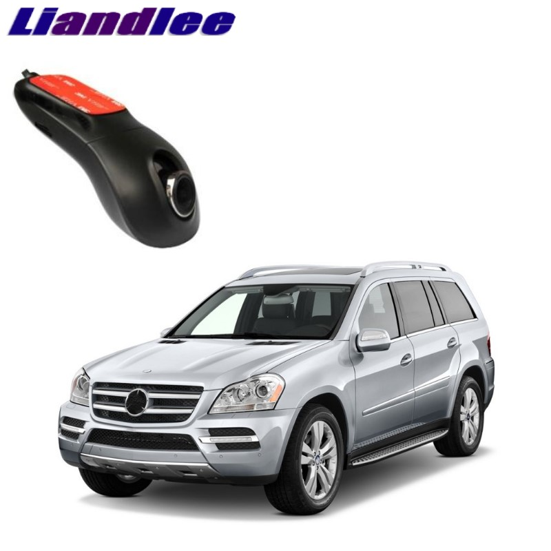 Liandlee For Mercedes Benz GL MB X164 2006~2012 Car Black Box WiFi DVR Dash Camera Driving Video Recorder novovisu car black box wifi dvr dash camera driving video recorder for nissan qashqai j10 j11 2006 2017
