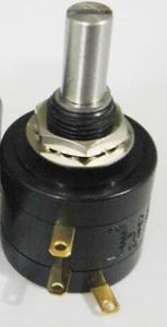 22HP-10 1K 2K 5K 10K 20K 50K 100K 100R 200R 500R OHM Original 2W 10 Turn Wirewound Potentiometer Connector For SAKAE x 5PCS(China)