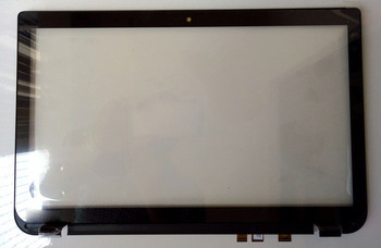 """New for toshiba satellite P55T-A5118 P55T-A5116 15.6"""" laptop touch screen front  digitizer + lcd front bezel B cover"""
