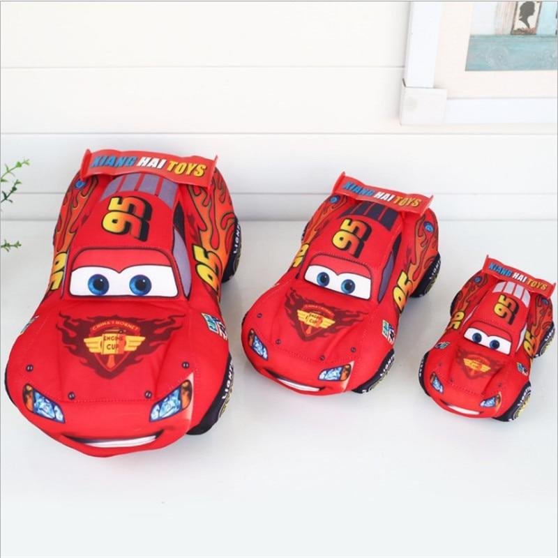 Disney Pixar Cars Kids Toys 17cm 25cm 35cm McQueen Plush Toys Cute Cartoon  Cars Plush Toys Best Gifts For Childrens