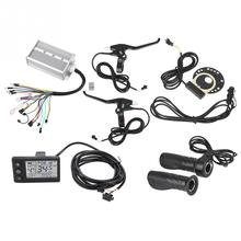 Assist-Sensor-Kit E-Bike-Speed Throttle-Handles Bicycle-Controller Electric-Bike 1500W