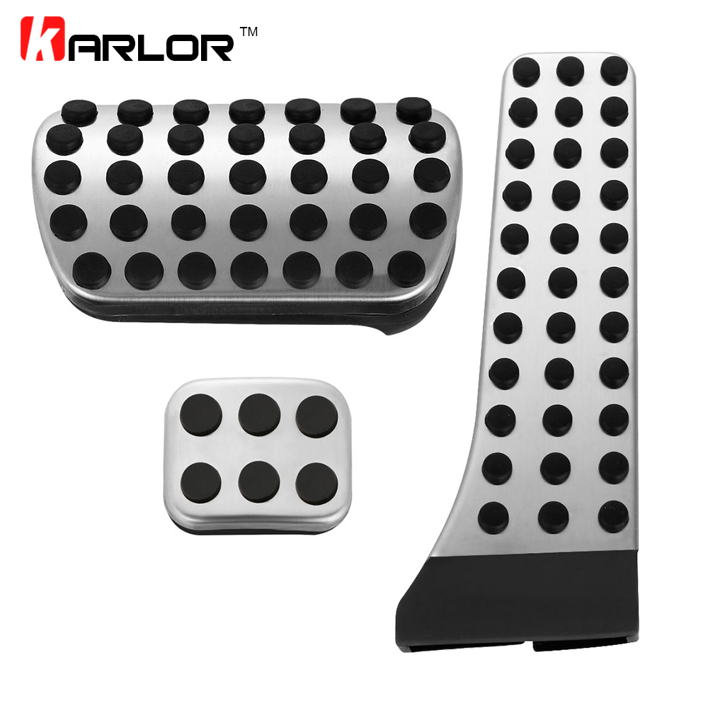 Stainless steel AMG AT pedal for Benz C E S GLK SLK CLS SL-Class W203 W204 W211 W212W210,accelerator brake footrest pad