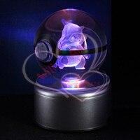 LED Nuit Lumière 3D Pokemon Aller Table Lampe Pokeball Cubone Nouveauté Éclairage Bébé Enfants cadeau De Noël