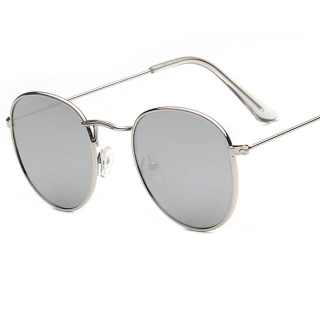 0cc6ad4a831b7 CANCHANGE 2018 Retro Rodada óculos de Sol Das Mulheres Designer De Marca Óculos  de Sol Para