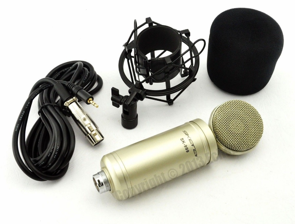 Top Quality SK 999 Professional Condenser Sound Studio