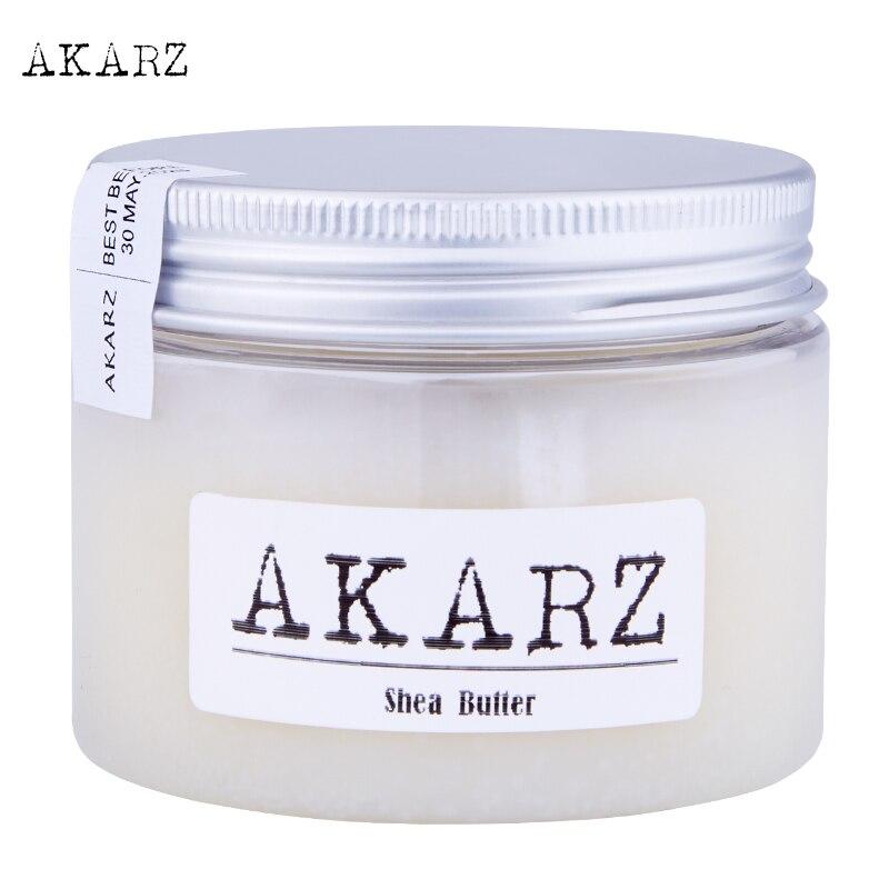 AKARZ brand Natural pure Shea Butter Cream Maternity Stretch Marks And Scar Skin Body Repair Remove Scar Care Cream 60G