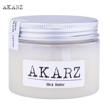 AKARZ merk Natuurlijke pure Shea Butter Crème Moederschap Striae En Litteken Huid Lichaam Reparatie Verwijderen Litteken Zorg Crème 60G