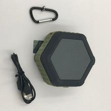 Outdoor Waterproof Speaker Wireless Metal Belt Bluetooth Speaker Player Rain-Proof Portable Speaker High Quality 3Colors
