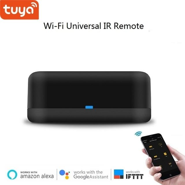 Tuya Rm mini smart home universal IR Control remoto controlador AI Control de voz AC caja de TV a través de Alexa. google Wifi control remoto por APP