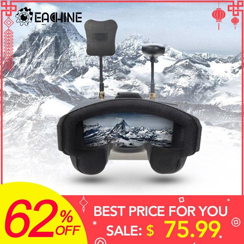 ¡En Stock! Eachine EV800D 5.8G 40CH 5 Pulgada 800*480 Vídeo Auriculares HD DVR Dversidad FPV Gafas con Batería para RC Modelo