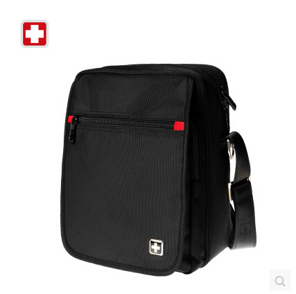 Swisswin мужчины повседневная бизнес путешествия черный маленький плечо сумки мужской моды мини вестник мешки портативный мешок sw8134a