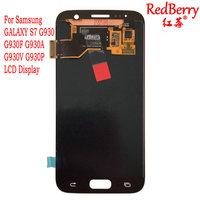 Redberry High Quality AMOLED LCD For Samsung GALAXY S7 G930 G930F G930A G930V G930P LCD Display