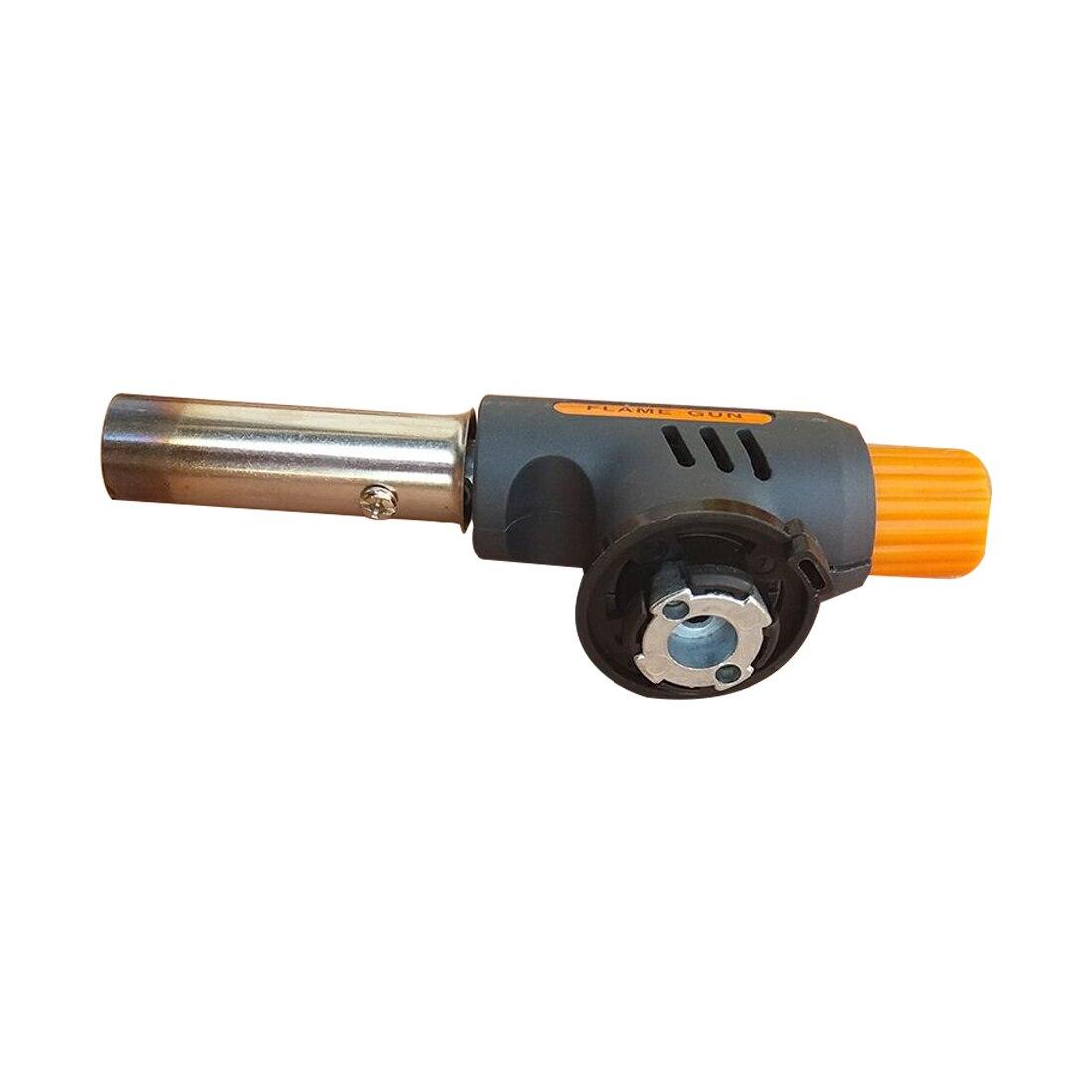 1 pcs Haute Qualité Gaz Butane Flamme Lance-flammes Allumage Automatique de Brûleur Camping Soudage BBQ Extérieur Voyage Flamme Gun