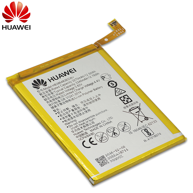 Image 5 - Hua Wei Original Phone Battery HB386483ECW For Huawei Honor 6X / G9 plus / Maimang 5 3340mAh Replacement Batteries Free Tools-in Mobile Phone Batteries from Cellphones & Telecommunications