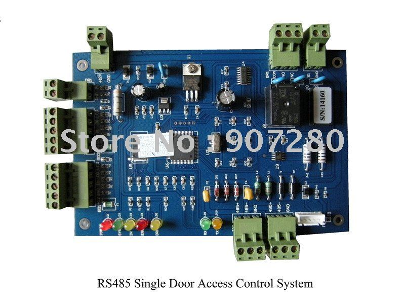 Wholesale RS485 Single Door Access Control Panel single door access control panel rs485 access control panel for one door t2001 net