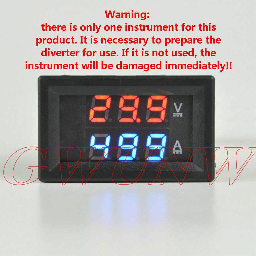 DC Current Shunt FOR 20A 50A 100A 200A 500A Digital LED Voltmeter Ammeter Panel