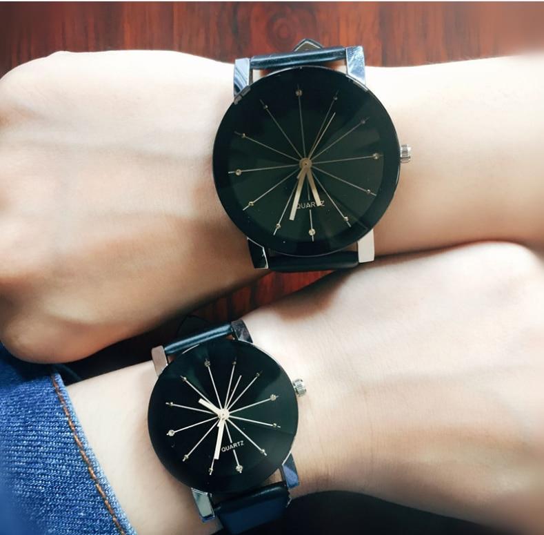 Luxe quartz sport horloges mannen vrouwen roestvrij stalen - Herenhorloges - Foto 3