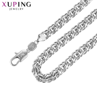 11.11 Deals Xuping Fashion Elegant Simple Necklace Charm Style Long Necklace Women Man Chain Jewelry Gift S74-43945