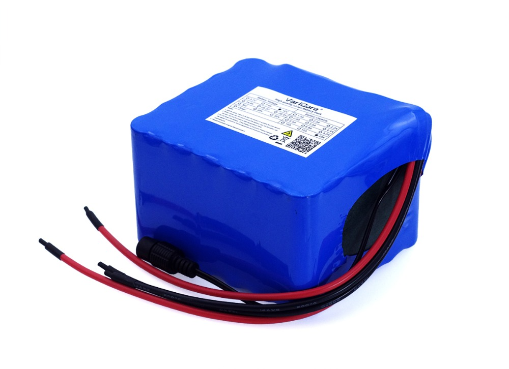 Image 4 - VariCore 12V 20Ah high power 100A discharge battery pack BMS protection 4 line output 500W 800W 20000mAh 18650 battery-in Battery Packs from Consumer Electronics