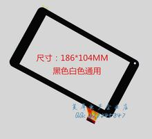 "Original new 7"" Hyundai Afrodita Tablet touch screen Touch panel Digitizer Glass Sensor Replacement Free Shipping"