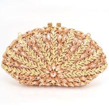 Luxus Kristall Verkrustete Taschen Frauen Diamant Silber Gold Abendtasche Böhmischen Kristall Handtasche Bunte Diamanten Geldbörsen 88373
