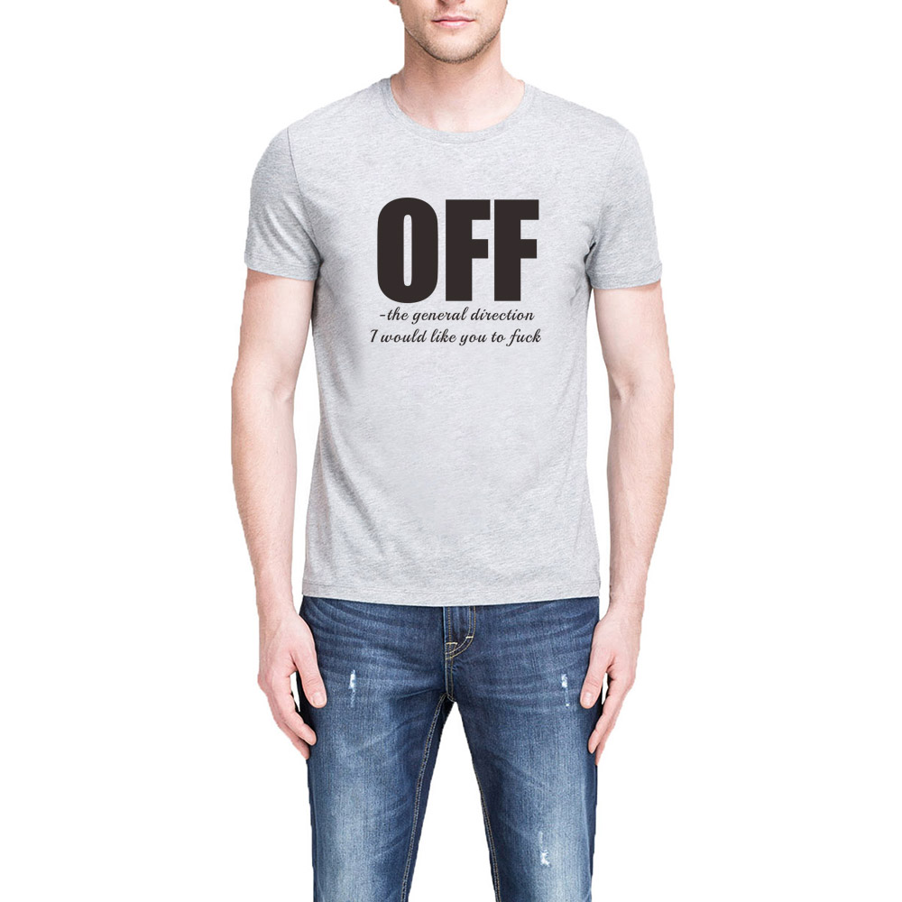 d72cc33f Mens Off The General Direction T shirts Men Offensive Slogan Tee-in T-Shirts  from Men's Clothing & Accessories on Aliexpress.com | Alibaba Group