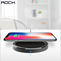 ROCK Qi Wireless Charger For IPhone X 8 Plus Wireless Charger For Samsung Galaxy Note 8