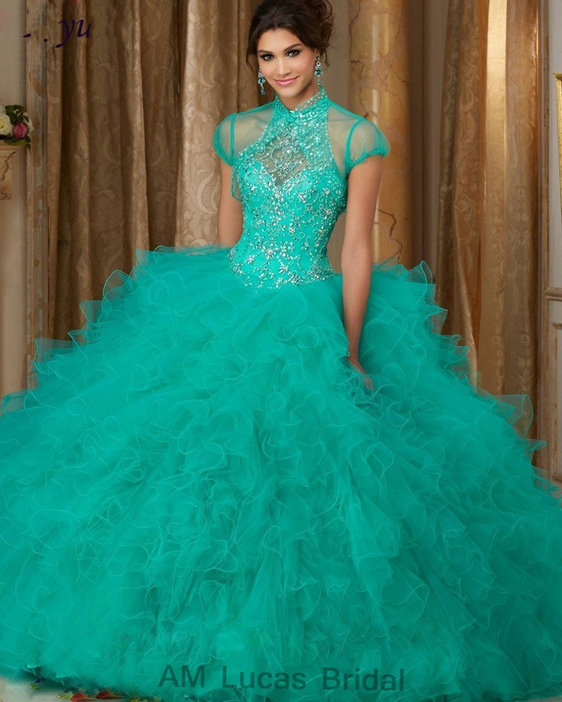 Cheap-Blue-2017-Quinceanera-Dress-Ball-Gown-O-Neck-Beaded-Rhinestones-Long-Sweet-16-Years-Party