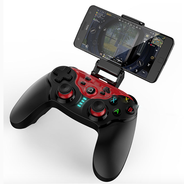 NEW Wireless Bluetooth Android Gamepad Controller Dual Joystick Gamepad MAC IOS Android PC IPEGA PG 9088-in Gamepads from Consumer Electronics